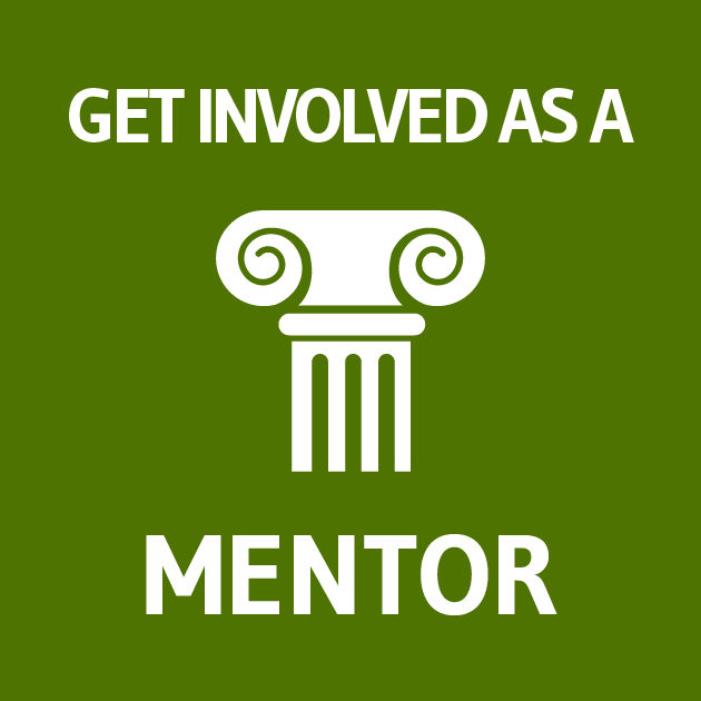 Graphic to get involved as a PROMISE mentor